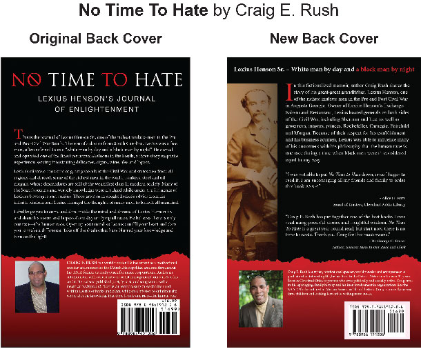 No Time To Hate by Craig E. Rush